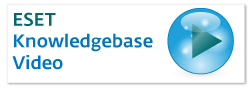 ESET Knowledgebase Video
