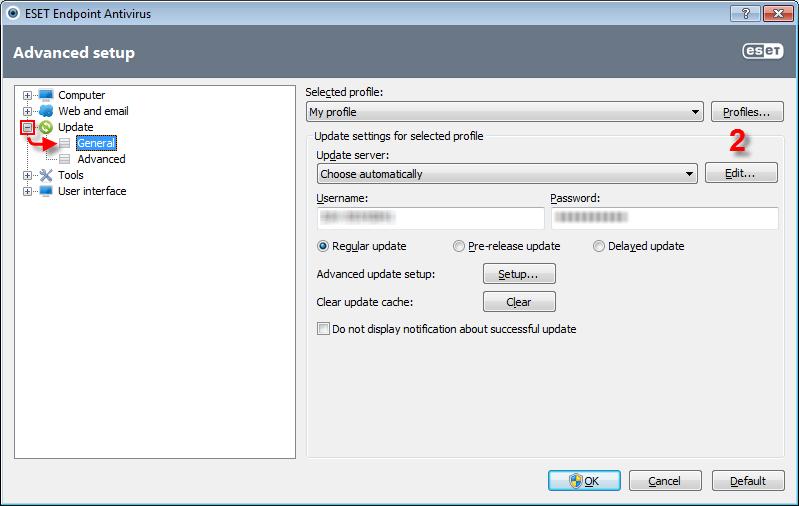eset nod32 update server list free