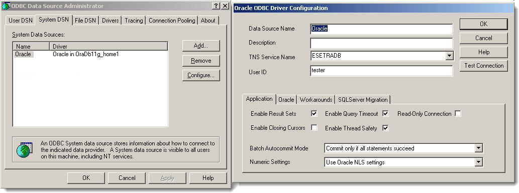 Create odbc data source connection for oracle in windows youtube.